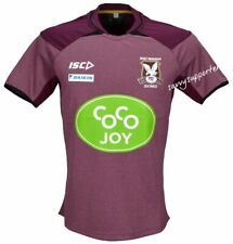 Manly Sea Eagles NRL 2016 Maroon Training Shirt 'Select Size' S-5XL BNWT