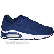 Shoes Nike Air Max Command Leather 694862 400 Running Man Blue Suede Moda PRM