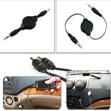 3.5mm Cable New Hot Sell Aux Retractable Auxiliary Cord For iPod Car MP3