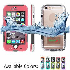 Waterproof Shockproof DirtProof Fingerprint ID Case Cover For iPhone 6 6S Plus +