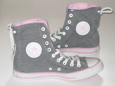 Womens CONVERSE CT SLOUCHY HI Grey Textile Trainers 534489C