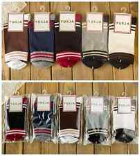 Women Mosaic color Spring Fall Mid-length Casual Cotton socks 5pairs 5 colors