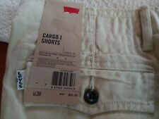 MEN'S LEVI'S RELAXED FIT 100% COTTON CARGO I SHORTS~SIZES~COLORS~6-POCKET