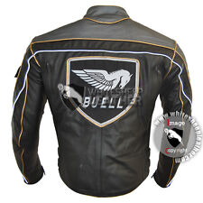 Men Buell Motorcycle racing leather jacket