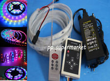 5M 5050 RGB Dream Color 6803 IC LED Strip Light 133 Change RF Remote Waterproof
