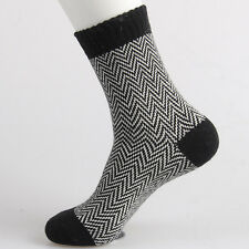 Men's Warm Winter Thick  wool mixture ANGORA Cashmere Casual Dress Socks chic