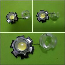 13mm *10mm Led Lens Holder 45 60 90 Degree For 1w 3w LED High Power Bead Bulb