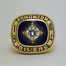 1984 Edmonton Oilers Stanley Cup Championship ring 'GRETZKY' Size 8-14 Gift
