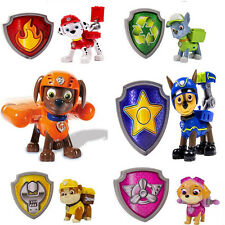 New Paw Patrol Action Pack Pup Deformation Dog Backpack Projectile Toys + Shield