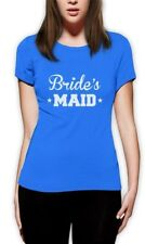 Bridesmaid Funny Bachelorette Party Bride's MAID Women T-Shirt Maid of Honor