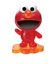 "3D Crystal puzzle 40 Pieces ""Elmo : Red"" / Crystal puzzle / Jeruel"