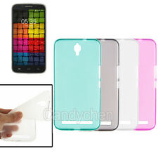 New Soft Gel Silicone TPU Back Case Cover Shell Skin + LCD Film For Umi Emax