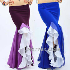 C29 Sexy Belly Dancing Costume Skirt with Slots Belly Dancing