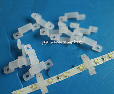 8mm 10mm Silicon Clip for Fixing 3528 5050 RGB & Single Color LED Strip