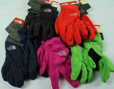 New Unisex North Face Polartec Gloves Blue Purple Green Pink Red S M L XL Womens