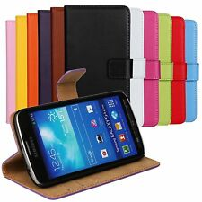 Genuine Leather Flip Case Stand Wallet Cover Skin Protector For HTC One S V X SV