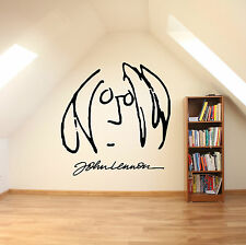 JOHN LENNON Self Portrait Vinyl Wall Art Sticker Decal Mural