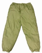 BRITISH SOFTIE TROUSERS THERMAL TROUSERS - USED - WITH STUFF SACK - ARMY ISSUE