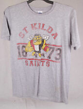 Official AFL St Kilda Saints Mens Tee Size M