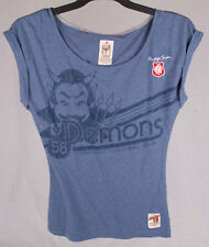 First 18 Official AFL Melbourne Demons Ladies Heritage Tee Size 8