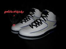 Nike Air Jordan II 2 retro Concords cement Black Dark Concord 385475-153 SALE