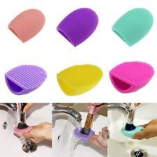 Hotrose Cosmetic Makeup Brush Silicone Cleaning Glove Scrubber Hand Cleaner Tool