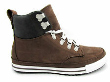 Unisex CONVERSE CT AS PC CLASSIC HI Chocolate Leather Trainers 130629C