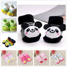 0-12 Months Cute Unisex Baby Kids Toddler Anti-Slip Socks Shoes Slipper
