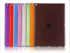 Color Crystal Soft TPU Transparent Silicone Clear Case Cover For  iPad Pro