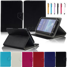 for NOOK GlowLight Plus eReader (BNRV510) Universal PU Leather Cover Case Stand