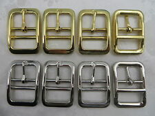 5x 1''(25mm) Dog Collar Bar Buckles, Znic Alloy, Silver or Gold color