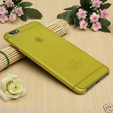 Transparent Yellow MatteFrosted Thin 0.3mm Hard Case Cover For Apple iPhone 6/6s