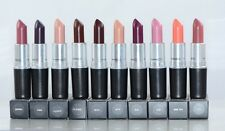 MAC Satin Lipstick 0.1 oz / 3 g - Your Choose Colors NEW IN BOX 100 % Authentic