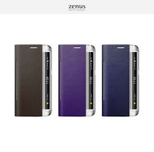 Zenus Metallic Leather Diary Wallet Cover Phone Case for Samsung Galaxy S6 Edge