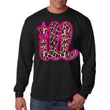 Ill Cheetah Print Design Illest Philly Phila Funny Long Sleeve T-Shirt Tee