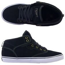 Globe Shoes Motley Mid Vintage Black FREE POST New Skateboard Sneakers