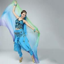 New Ladies Shawl Face Scarf Women Dance Belly Bollywood Costume Multi-Color
