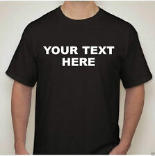 Custom Personalized T-Shirt - New - Create Your Own Text - Youth: Small - Large
