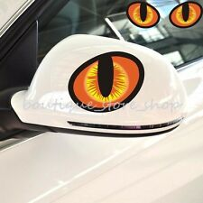 SM 3D cat simulation eyes Rearview mirror Random body window car stickers Decals