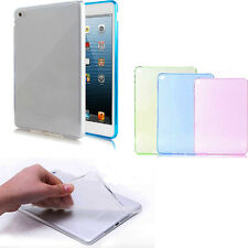 Thin Transparent TPU Back Case New Silicone Case Cover For iPad Air 2 2nd Gen 6