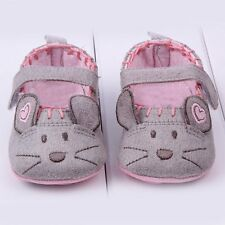 Cute Mouse Pattern Baby Shoes Toddler Boy Girls Cotton Soft Sole Crib Shoes Hot