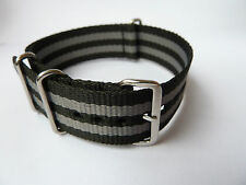 New 007 SPECTRE JAMES BOND NATO WATCH STRAP BAND.SEAMASTER 300. ALL SIZES Prop