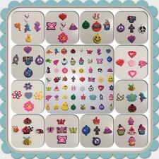 Rubber Charm Set 70+ STYLE Boy Girl Jump Rings for Rainbow Rubber bands Bracelet