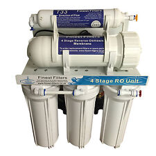 400gpd 5 or 6 Stage Reverse Osmosis RO Unit with Booster Pumps Aquarium Pole Fed