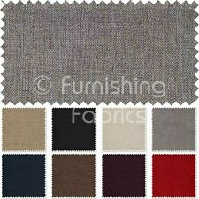 Textured Basktet Weave Chenille Upholstery Curtain Cushion Covers Quality Fabric