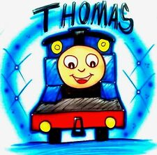 "Thomas And Friends, ""Thomas The Train"" Airbrushed T-Shirt! Every Size Available!"