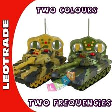 Radio Controlled R/C Remote Controlled Infrared Tank in two colors 26cm