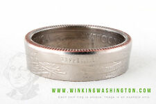COIN RING - TENNESSEE - HANDMADE IN USA FROM GENUINE US QUARTER!