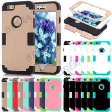 Armor High Impact  Silicone Glossy Matte Tough Case Skin For Apple iPhone Series