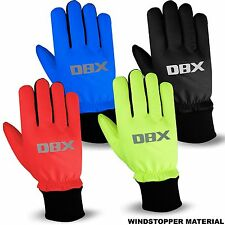 Cycling Winter Gloves Windproof Windstoper Thermal MTB Bike Glove DBX M to XL
